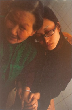 Ming Ming and his grandmother, Sichuan Province 2008